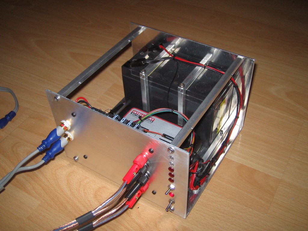 Battery Power Supply For Classt D Amp Diyaudio